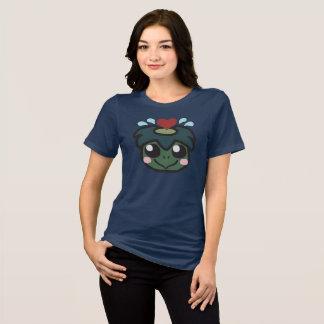 A camisa das mulheres da parada do Kappa
