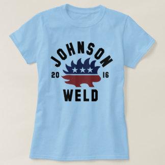 A camisa das mulheres da solda 2016 de Johnson