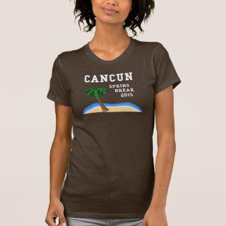 A camisa das mulheres de Cancun 2015 das férias da