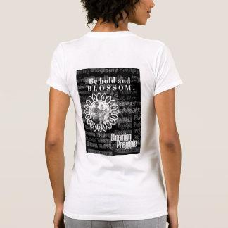 A camisa das mulheres de florescência de Prejippie