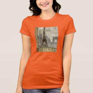 A camisa das mulheres de Paris do vintage