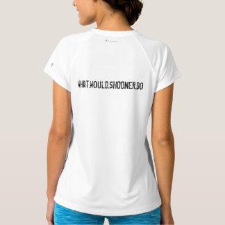 A camisa das mulheres de WWSD - disponível em
