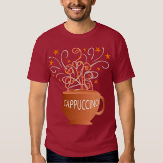 a camisa das mulheres do cappuccino t-shirts