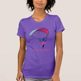 A camisa das mulheres do duende do parapente