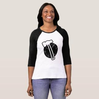A camisa das mulheres do martelo