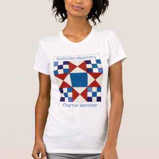 A camisa das mulheres do mistério de Quiltville