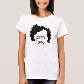 A camisa das mulheres do Moustache de G K