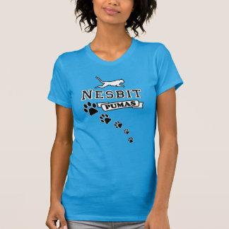 A camisa das mulheres do puma de Nesbit (design da