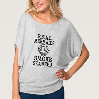 A camisa das mulheres engraçadas da alga real do