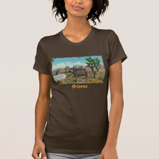 A camisa das mulheres engraçadas do deserto de tshirts