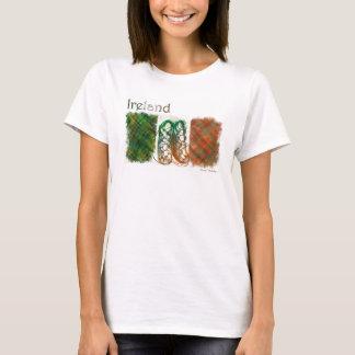 A camisa das mulheres irlandesas de LW