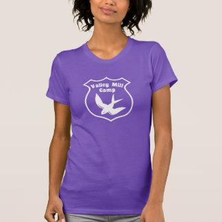 A camisa de acampamento original do moinho do vale