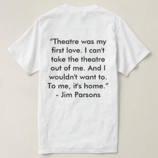 A camisa de Asteca Teatro Empresa Tshirts