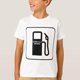 A camisa diesel básica dos miúdos restrita t-shirts