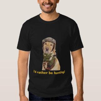 A camisa do caçador tshirts