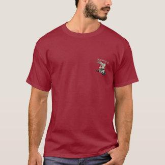 A camisa do camionista da chamada da natureza