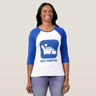"""A camisa do dia das mães T, """"RESTO PERMITIU"""""""