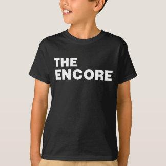 A camisa do ENCORE da gota Fa do Mic do encore do
