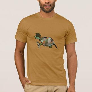 Camiseta A camisa do formando da tartaruga