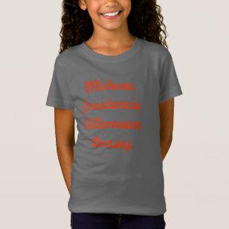A camisa do grupo