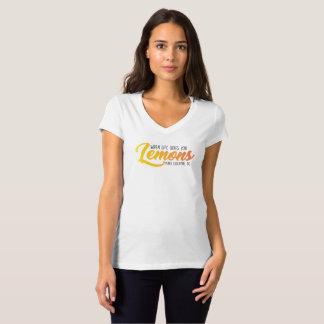 A camisa do limão (branca)