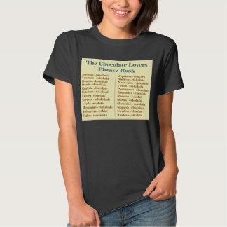 A camisa do livro de frase T dos amantes do T-shirt