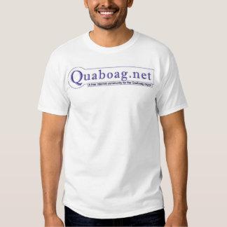 A camisa do logotipo de quaboag.net tshirt