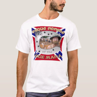 A camisa do membro da máfia de Dixie