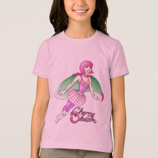 A camisa do miúdo da flor de cerejeira do homem de