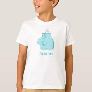 A camisa do miúdo da luta de Aidan