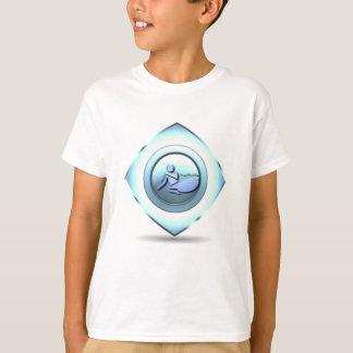 A camisa do miúdo do design do barco