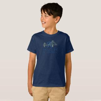 A camisa do miúdo do rio de R - St Lawrence