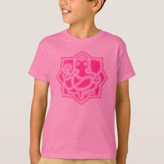 A camisa do miúdo feliz de Ganesh