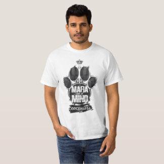 A camisa do Pata-Impressão T da máfia