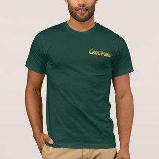 A camisa dos homens da MICROPLAQUETA de CrocPond