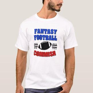 A camisa dos homens de Commish do futebol da