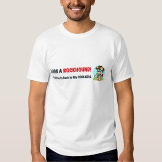 A camisa dos homens do Coolness de Rockhound Tshirts