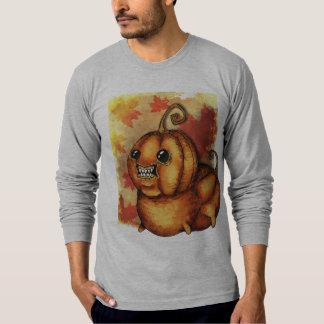 A camisa dos homens do Dia das Bruxas da queda do