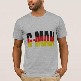 A camisa dos homens do G-Man