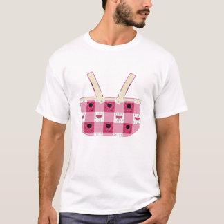 A camisa dos homens do piquenique do verão