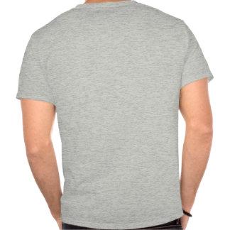 A camisa dos homens do sistema de alimentação de o t-shirts