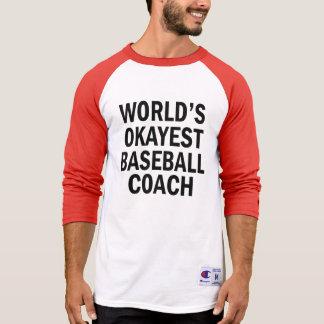 A camisa dos homens engraçados do treinador de