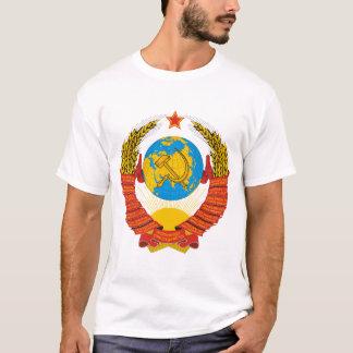 A camisa dos homens soviéticos da brasão