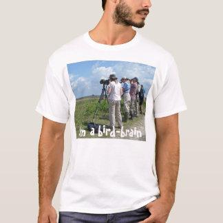 a camisa dos Pássaro-observadores