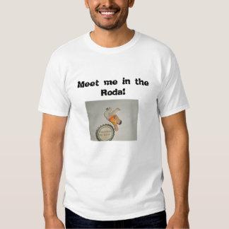 A camisa encontra-me no Roda Tshirt