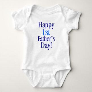 Á camisa feliz do bebê do dia de pais