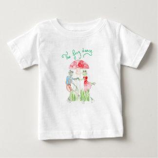 """""""A camisa fina do jérsei T do bebê da dança do"""