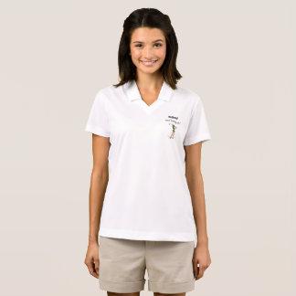 A camisa Golfing ele das mulheres aposentadas e de