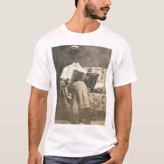 A camisa invisível do homem