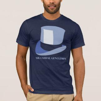 A camisa ocasional dos cavalheiros